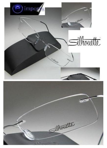 752497b11c5ae Óculos Silhouette titanium - e-imports